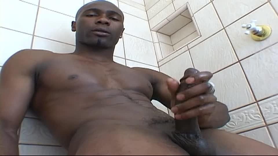 Männer mit großen schwarzen Schwänzen