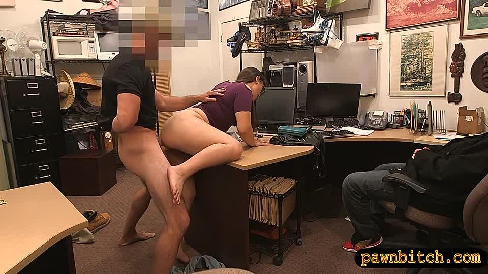 скрытое офисное порно - 12